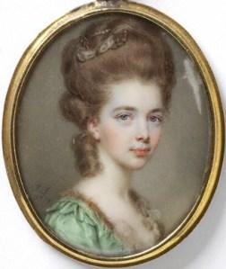 John Smart Portrait d'une femme inconnue daté 1779 Victoria & Albert Museum