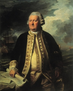 Clark Gayton, Amiral du Cercle Blanc John Singleton Copley