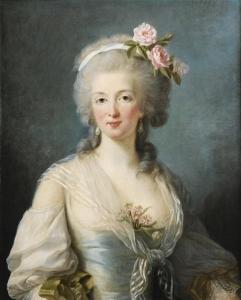 EANNE DE VALOIS, COMTESSE DE LA MOTTE By Élisabeth Vigée Le Brun