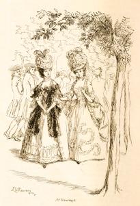 Evelina, par Fanny Burney