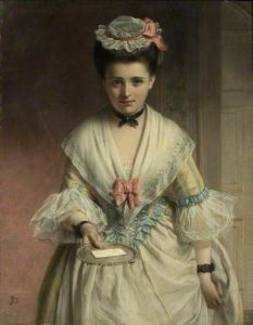 For You, Miss by John Robert Dicksee (1817-1905)