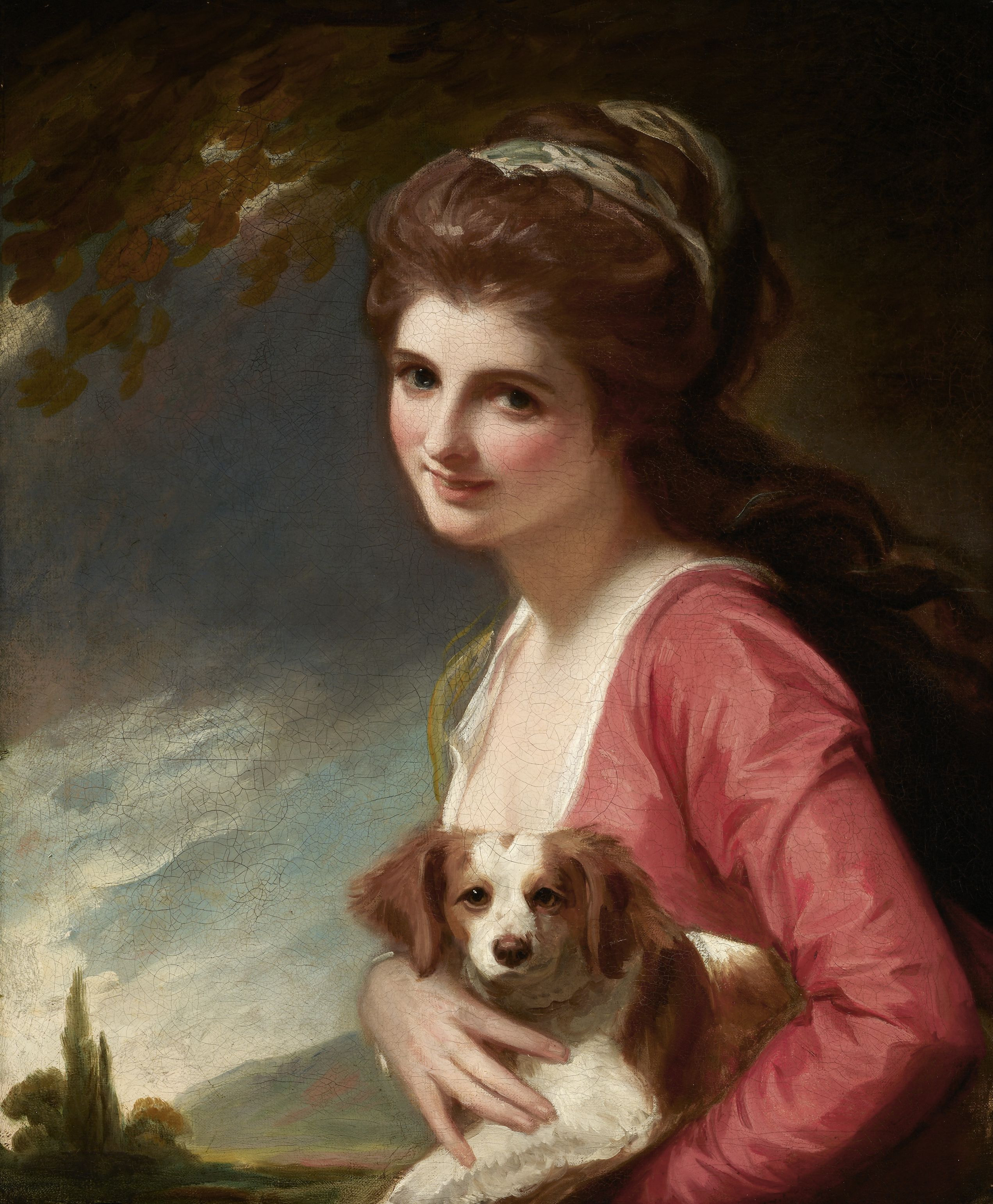 George Romney - Lady Hamilton (as Nature)
