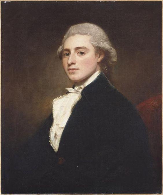 Portrait de James Dashwood, George Romney (1734-1802, United Kingdom)