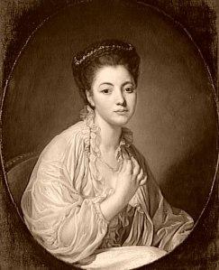 Peter Adolf Hall, portrait de sa fille