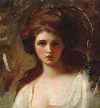Emma Hart as Circe c.1782 by George Romney 1734-1802