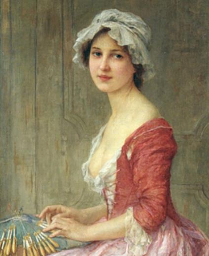 Charles-Amable Lenoir (français, 1861-1940) Le créateur de dentelle