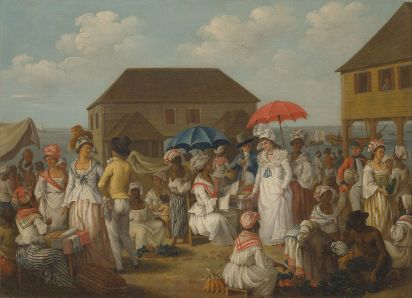 Agostino_Brunias_-_Linen_Market,_Dominica_-_Google_Art_Project