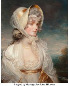 John Hoppner (Britannique, 1758-1810). Portrait de l'honorable Lucy Elizabeth Byng