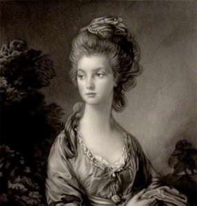 (Portrait of Mary Graham (1757–92), who reportedly had a relationship with Georgiana in the 1770s © National Portrait Gallery, London