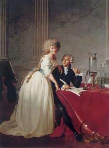 Antoine Laurent de Lavoisier et sa femme 1788.