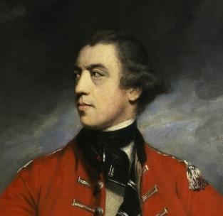 John Burgoyne, premier duc d'Albany, portrait de Sir Joshua Reynolds, 1766. 3
