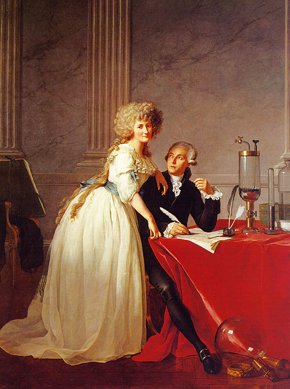 ( Portrait d_Antoine Laurent de Lavoisier et de sa femme de Jacques-Louis David)