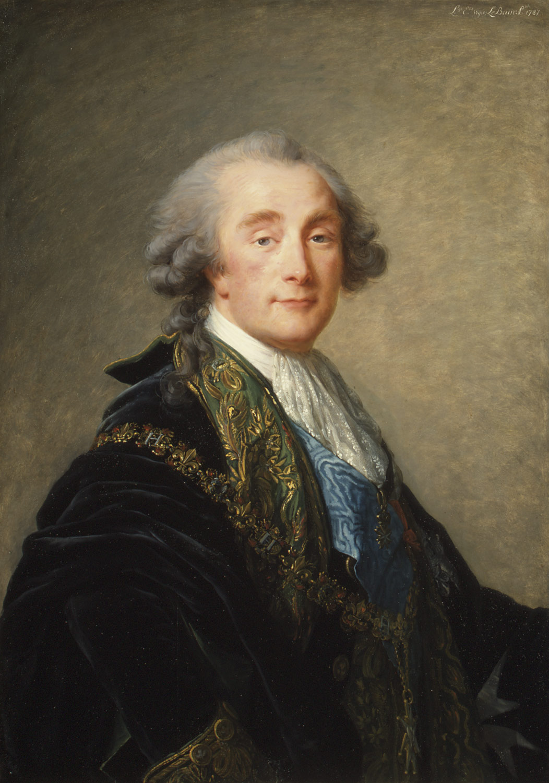 de Saint-Maxent Gilbert Antoine. (Alexandre Charles Emmanuel de Crussol-Florensac . Élisabeth Louise Vigée Le Brun