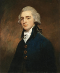(George Romney (PORTRAIT OF SIR GEORGE GUNNING 1753-1825)