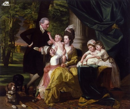 (SIR WILLIAM PEPPERRELL AND HIS FAMILY par John Singleton Copley)