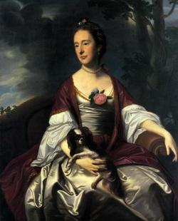 John Singleton Copley - Mrs Jerathmael Bowers
