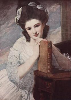 ( George Romney. Miss Benedetta Ramus.
