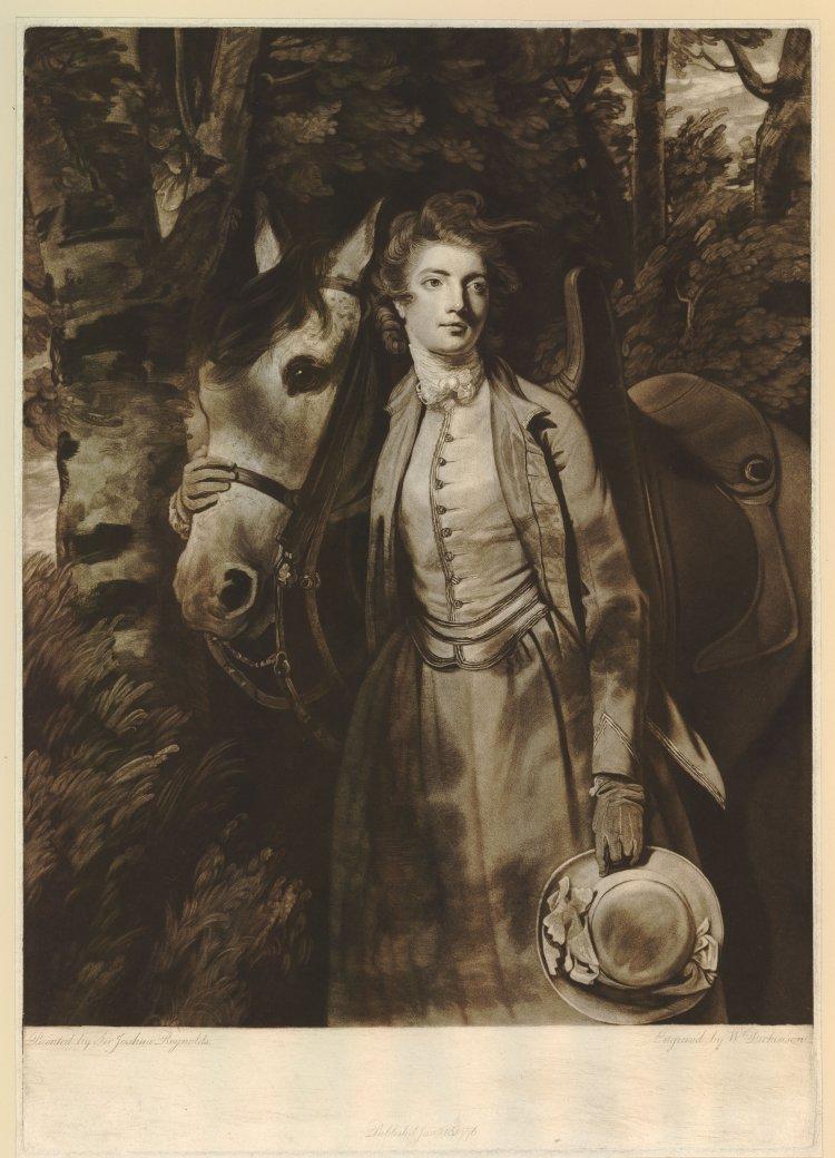 (Portrait après Reynolds