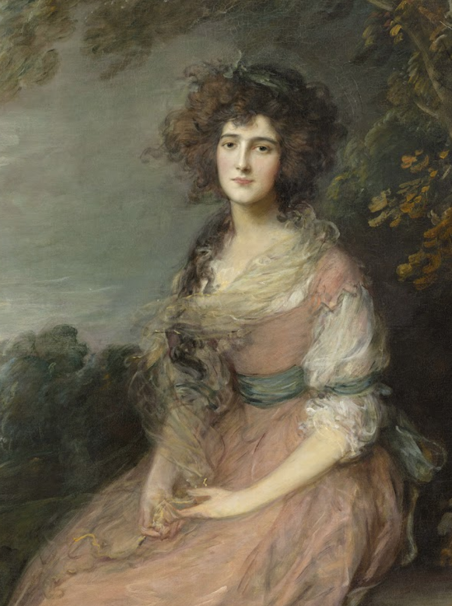 (Thomas Gainsborough Mrs. Richard Brinsley Sheridan