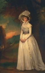 Cambes-Sadirac Antoinette-Marie (George Romney, Penelope Lee Acton, 1791