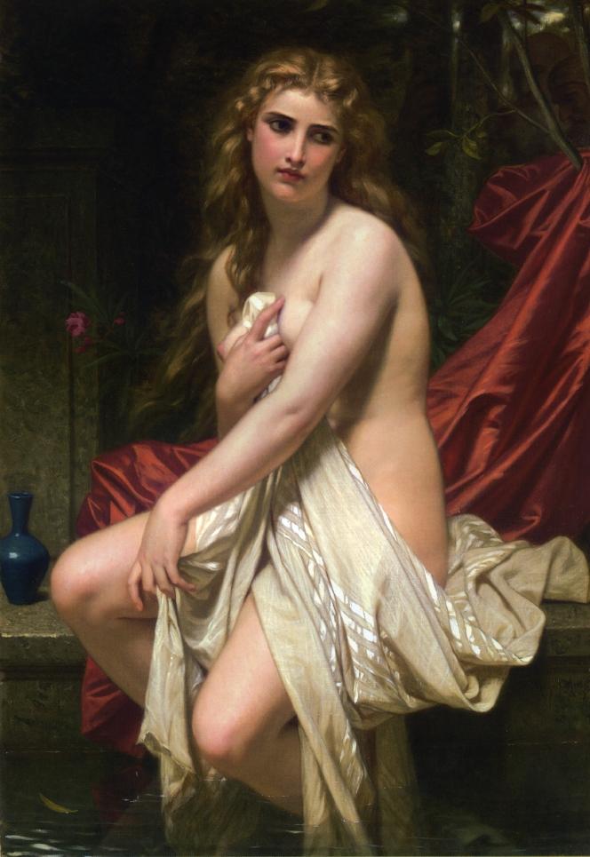 (Hughes Merle - Susannah at Her Bath