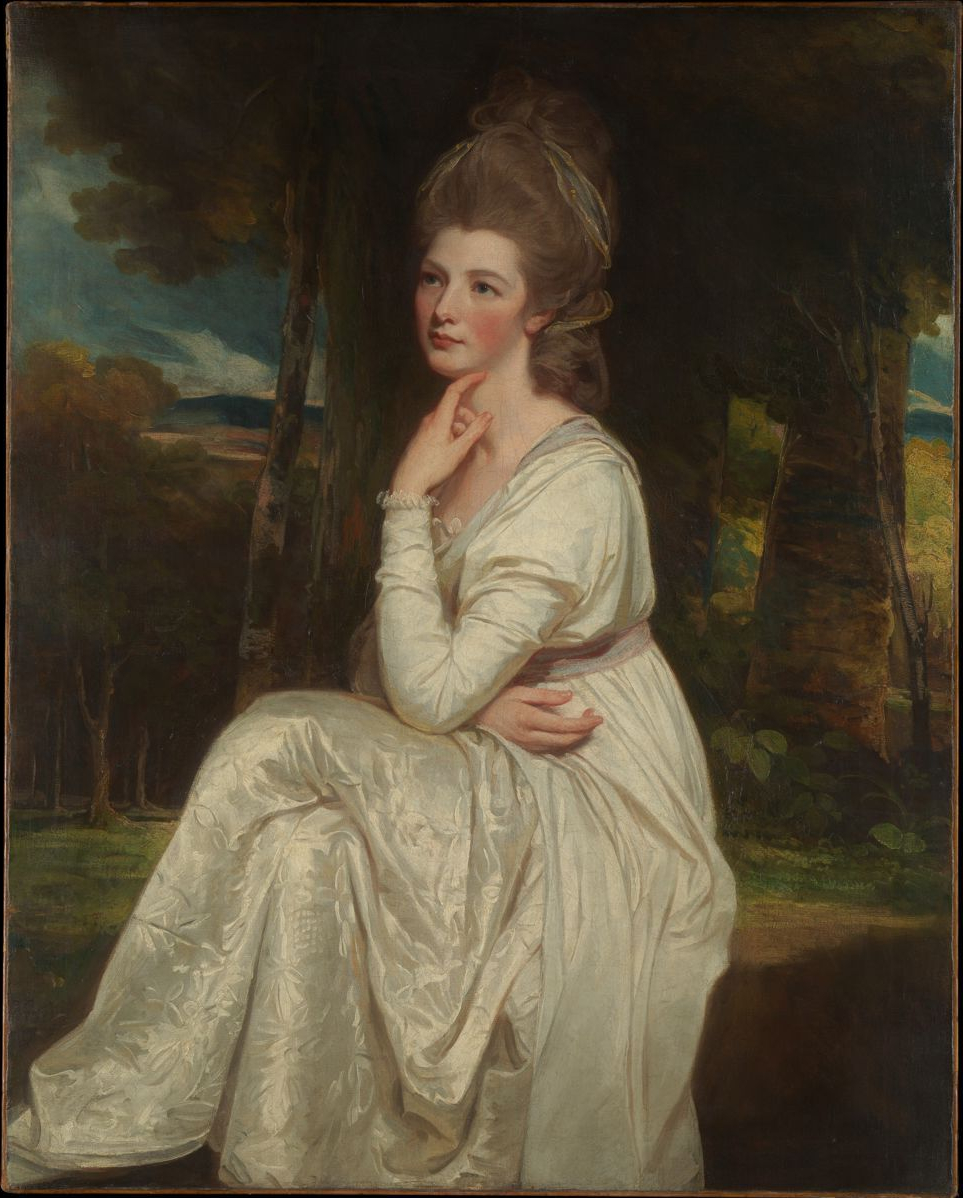 (Lady Elizabeth Stanley (1753–1797), Countess of Derby, George Romney )