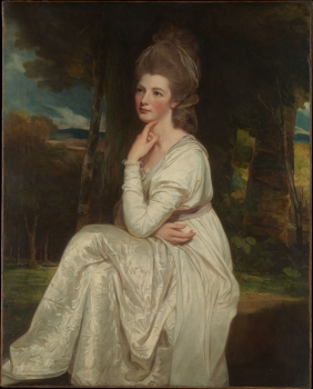 (Lady Elizabeth Stanley (1753–1797), Countess of Derby, George Romney )