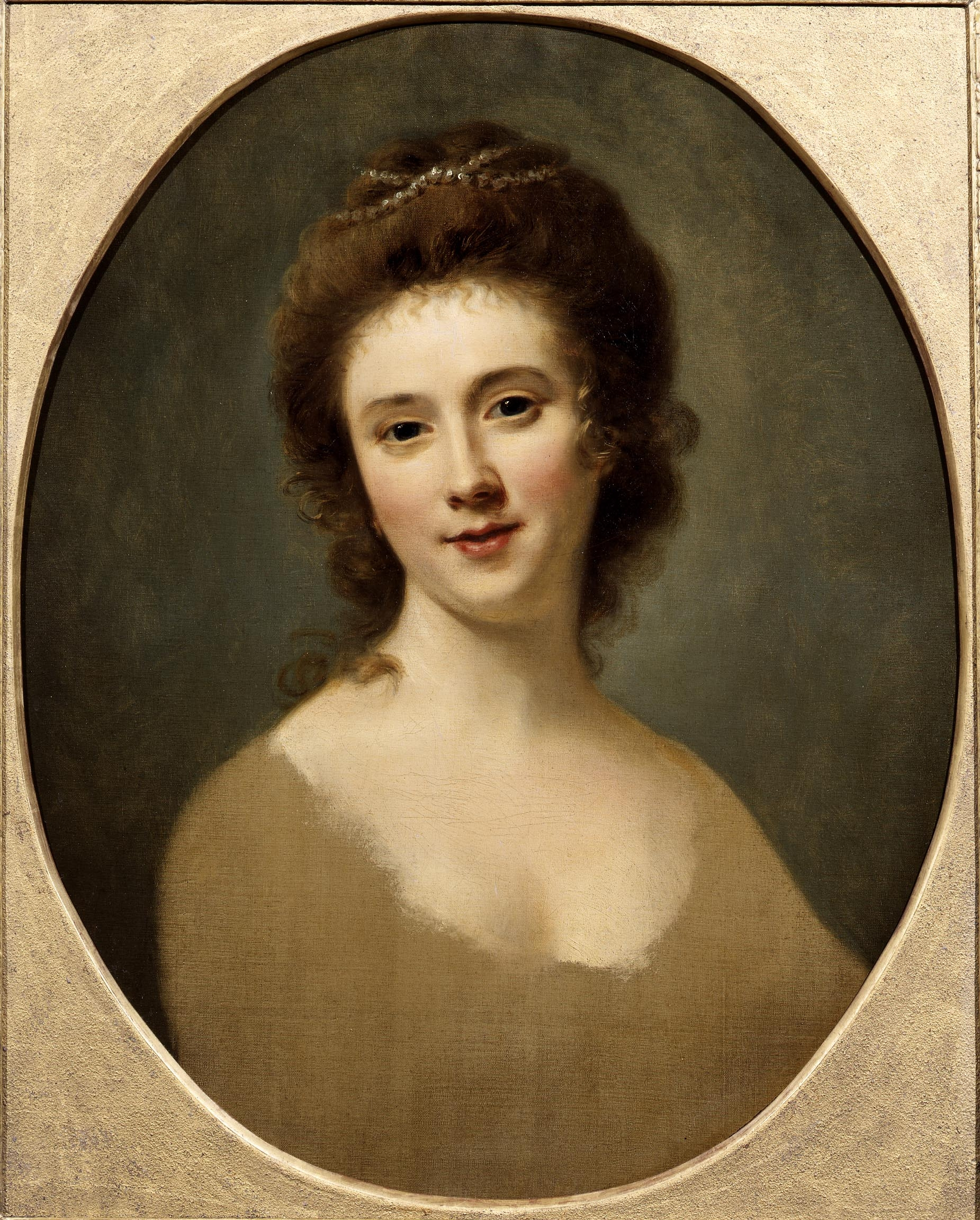 (Portrait of Miss Gunning de Nathaniel Hone the Elder (1718–1784)