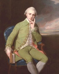(George Romney - Portrait of a Gentleman said to be Earl Grey