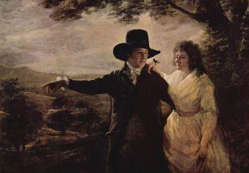 de Vilagaya Juan Salvador et sa femme (Sir Henry Raeburn (Porträt von Sir John und Lady Clerk